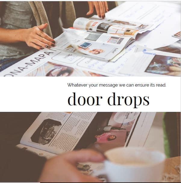Door Drops by Letterbox Distribution Ilford